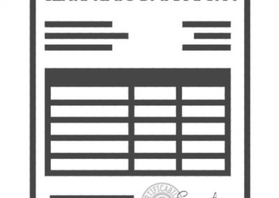Certificato Taratura